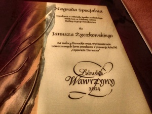 Wawrzyn - nagroda specjalna